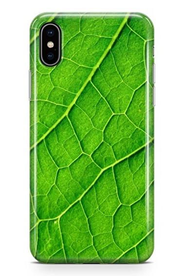 Lopard iPhone Xs Max Kılıf Silikon Arka Kapak Koruyucu Damar Yolu Desenli Full HD Baskılı Renkli